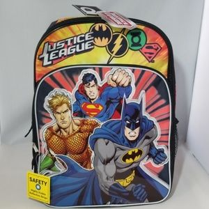 Justice league boys backpack multicolor. Brand NEW